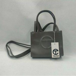 Telfar Small Gray Shopping Bag